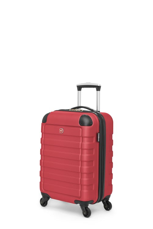 Swissgear Meligen Collection - Carry-On Hardside Luggage - Red
