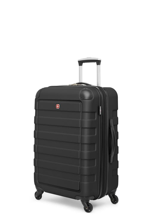 "Swissgear Meligen Collection 24"" Expandable Hardside Luggage - Black"