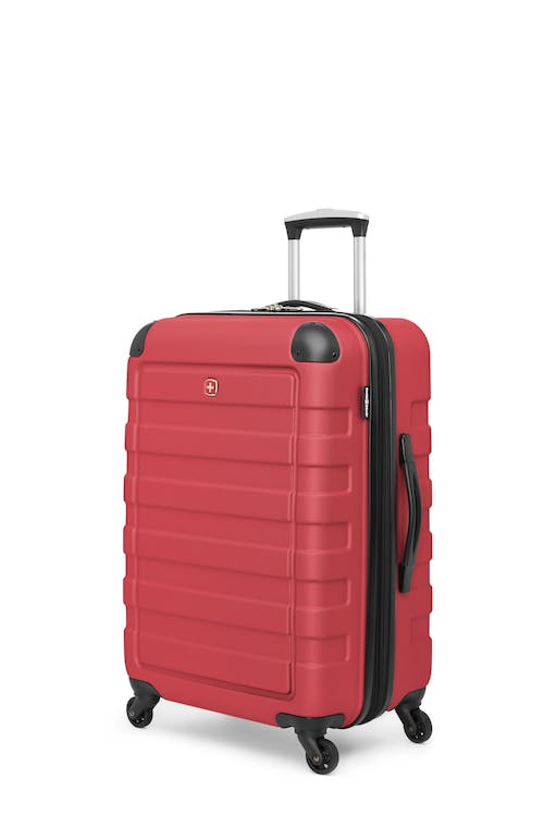 "Swissgear Meligen Collection 24"" Expandable Hardside Luggage - Red"