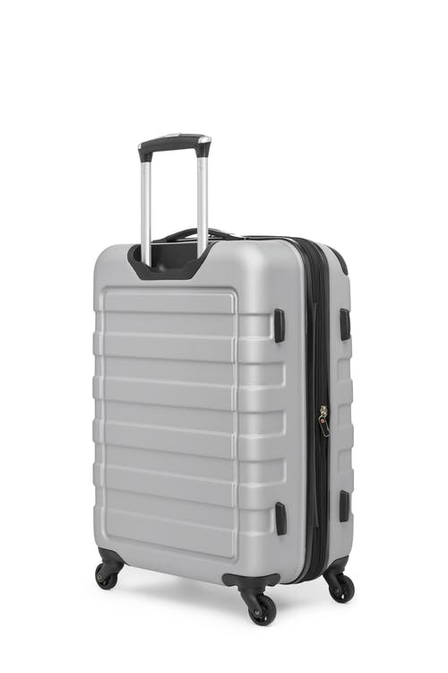 "Swissgear Meligen Collection 24"" Expandable Hardside Luggage  Rugged ABS construction"