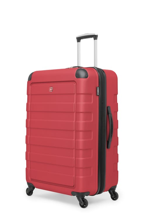 """Swissgear Meligen Collection 28"""" Expandable Hardside Luggage - Red"""
