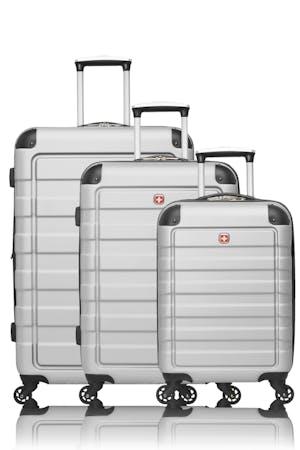 Swissgear Meligen Collection Hardside Luggage 3 Piece Set