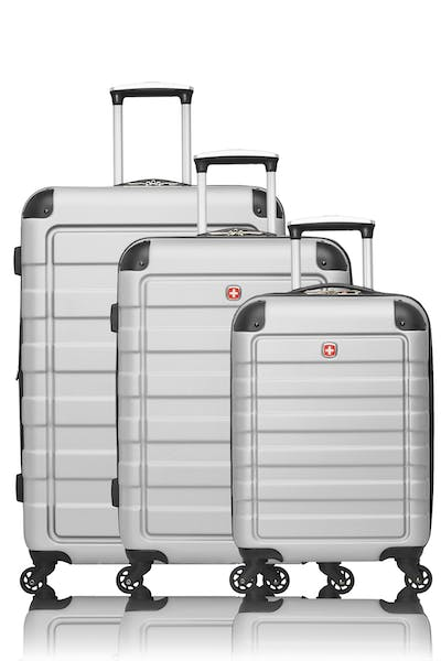 Swissgear Meligen Collection Hardside Luggage 3 Piece Set