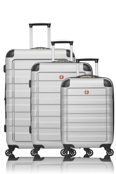 Swissgear Collection de bagages Meligen - Ensemble de 3 valises rigides