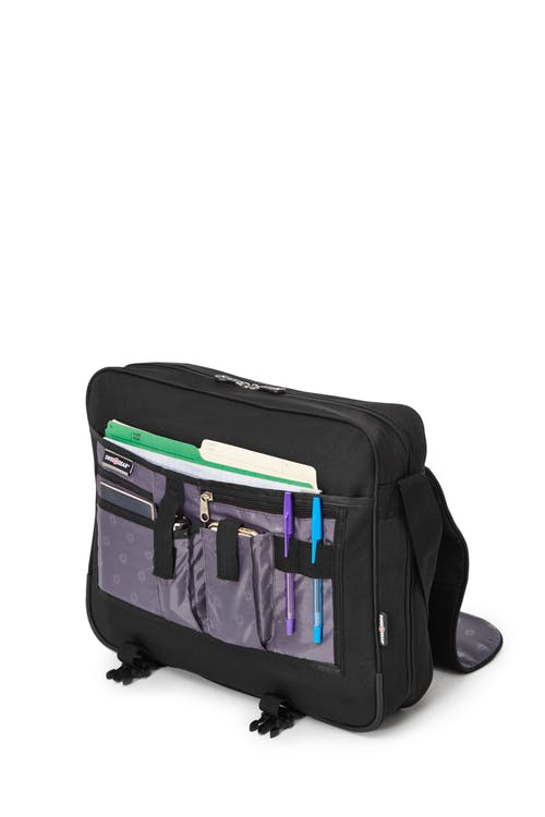Swissgear 0506 15-inch Computer Friendly Briefcase  Under the Flap organizer compartment