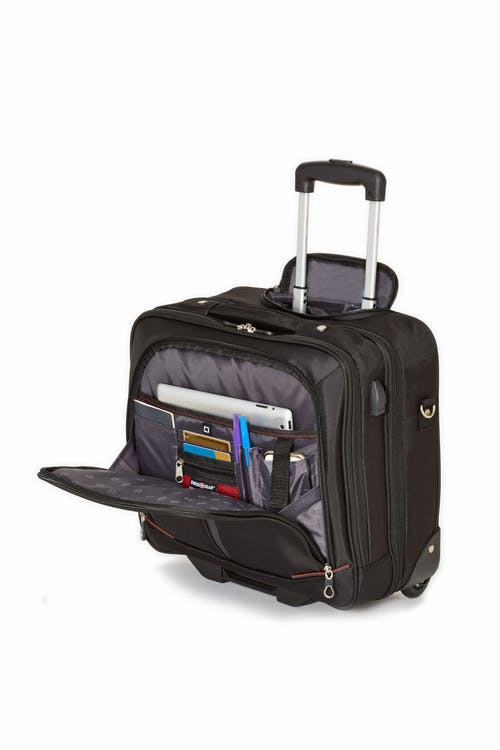 Swissgear 0565 Professional Wheeled Computer Business Case  Dedicated compartment for your tablet