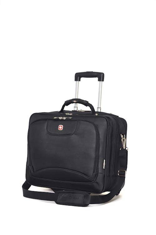 Swissgear 0568 15-inch Laptop Wheeled Computer Business Case - Black