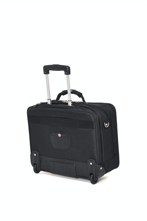 Swissgear 0568 15-inch Laptop Wheeled Computer Business Case  Retractable push-button handle