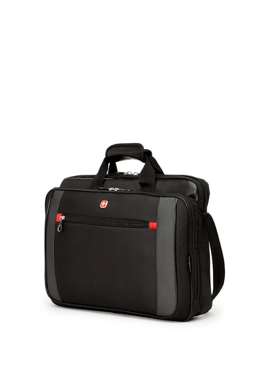 Swissgear 0586 17-inch Computer Friendly Briefcase - Black