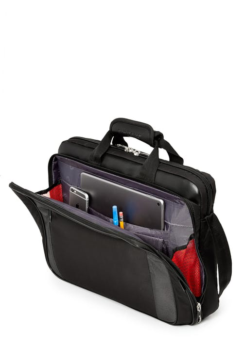 Swissgear 0586 17-inch Computer Friendly Briefcase  Dedicated compartment for your tablet