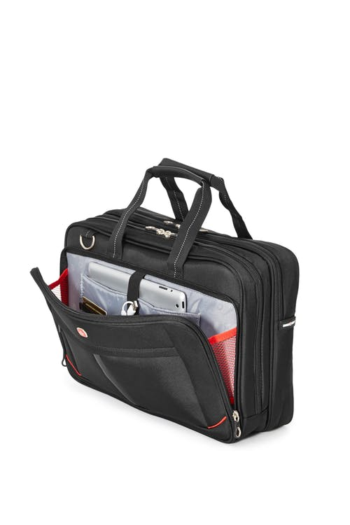 Swissgear 0918 Computer Friendly Briefcase  Dedicated compartment for your tablet