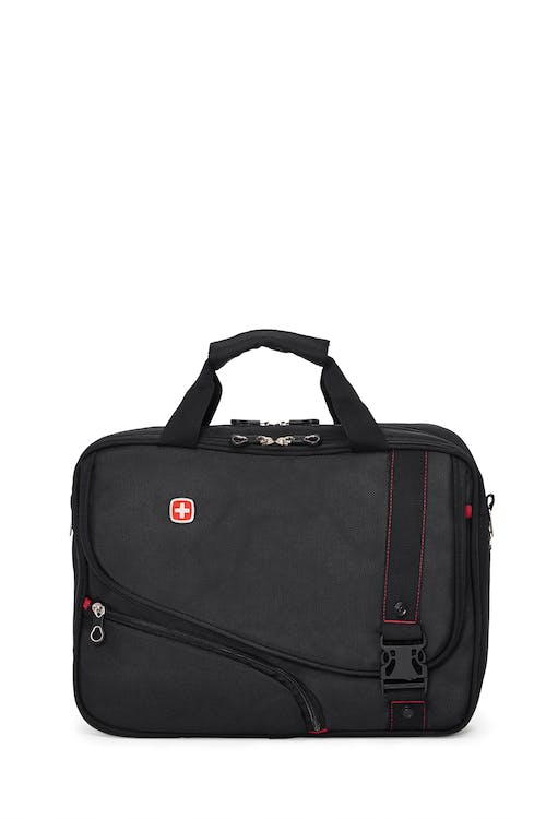 Swissgear 0929 15-inch Computer Friendly Briefcase  Adjustable and removable shoulder strap