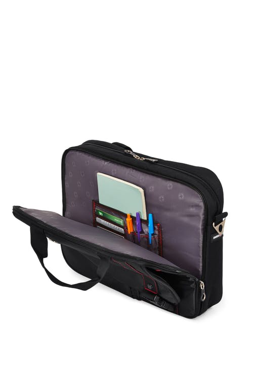 Swissgear 0929 15-inch Computer Friendly Briefcase  Dedicated compartment for your tablet