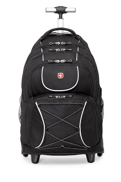 Swissgear 0961 Wheeled 15-inch Laptop Backpack  Reflective tape enhances visibility