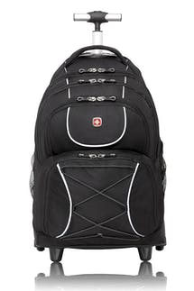 Swissgear 0961 Wheeled 15-inch Laptop Backpack - Black
