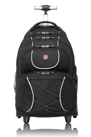 Swissgear 0961 Wheeled 15-inch Laptop Backpack - Black