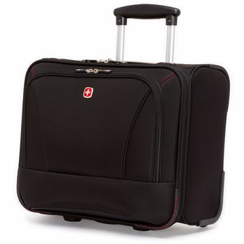 SWISSGEAR 0970 PROFESSIONAL WHEELED COMPUTER BUSINESS CASE - BLACK
