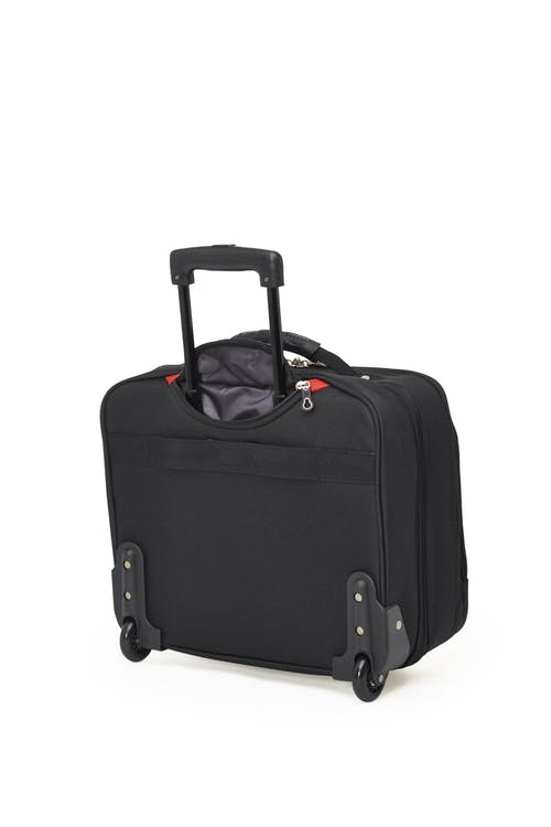 Swissgear SWA0990 - 15-inch Laptop Wheeled Computer Business Case  Retractable push-button handle