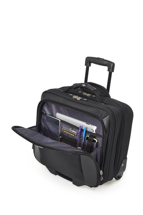Swissgear SWA0990 - 15-inch Laptop Wheeled Computer Business Case  Dedicated compartment for your tablet