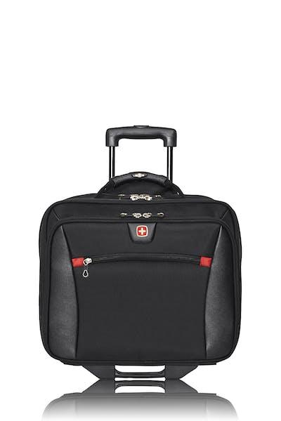 Swissgear 0990 - Mallette d'affaires à roulettes pour ordinateur 15 po - Noir