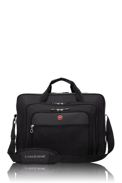 Swissgear 0998 17-inch Laptop Friendly Briefcase - Black