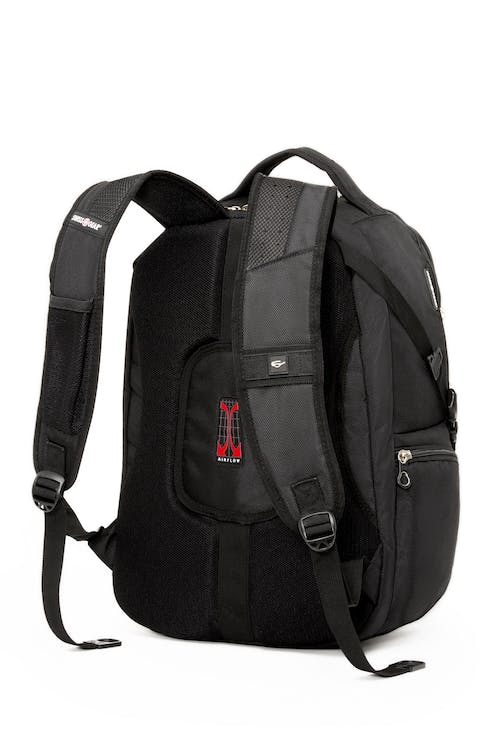 Swissgear 1456 17-inch Computer and Tablet Backpack  Padded Airflow back and shoulder straps