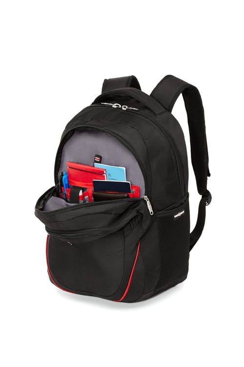Swissgear 2205 15-inch Computer and Tablet Backpack  Front zippered organizer compartment