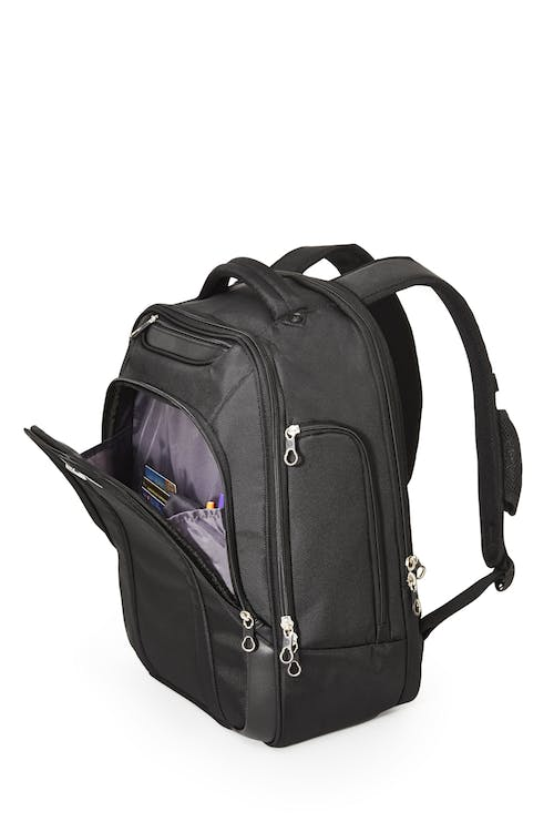 Swissgear 2328 17-inch Laptop and Tablet Backpack Side pockets for sundries