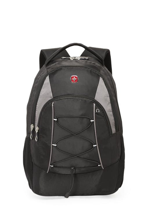 Swissgear 2401 15 inch Computer and Tablet Backpack  Bungee cord on front pocket