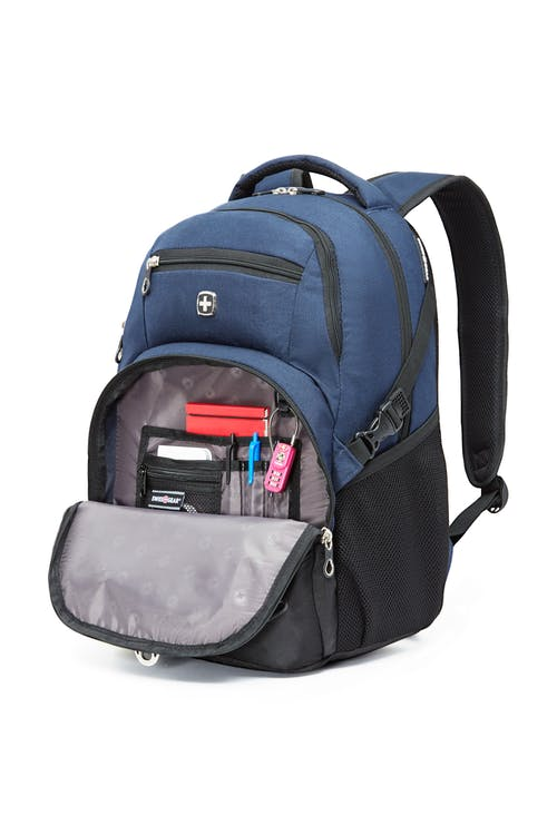 Swissgear 2501 15-inch Laptop and Tablet Backpack  Front zippered organizer
