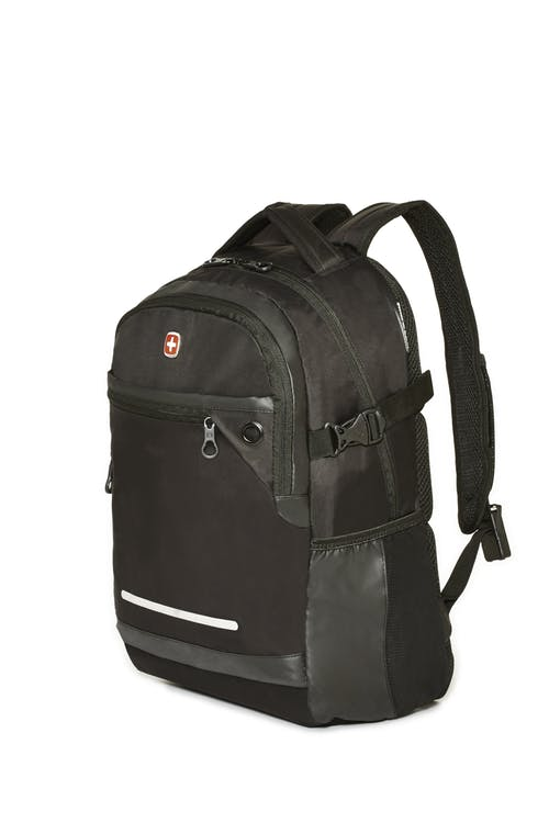 Swissgear 2504 15-inch Computer and Tablet Backpack with USB Port - Black