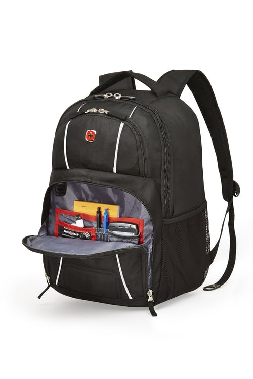 Swissgear 2514 17-inch Laptop Backpack  Front zippered organizer compartment
