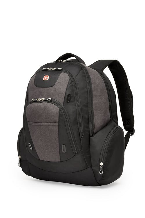 Swissgear 2602 17-inch Side Load Computer Backpack and Fully Insulated Lunchbox Combo
