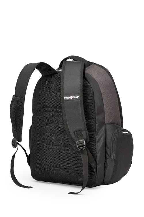 Swissgear SWA2603 17-inch side load computer backpack  Padded, ergonomically contoured straps