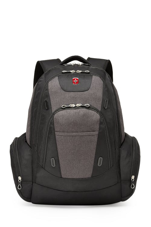 Swissgear SWA2603 17-inch side load computer backpack  Side pockets for sundries