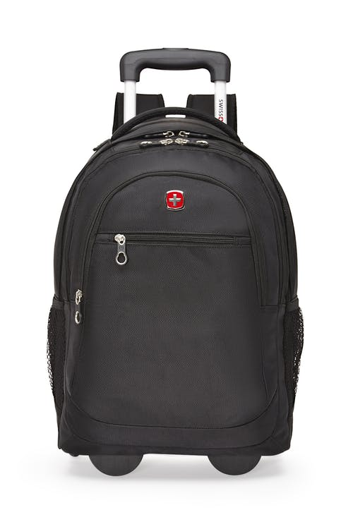Swissgear 2609 15-inch Computer and Tablet Backpack  Retractable push-button handle
