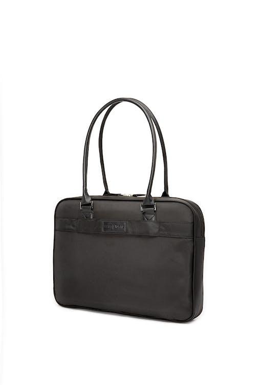 Swissgear 5107 Laptop Friendly Briefcase  Comfortable double faux-leather straps
