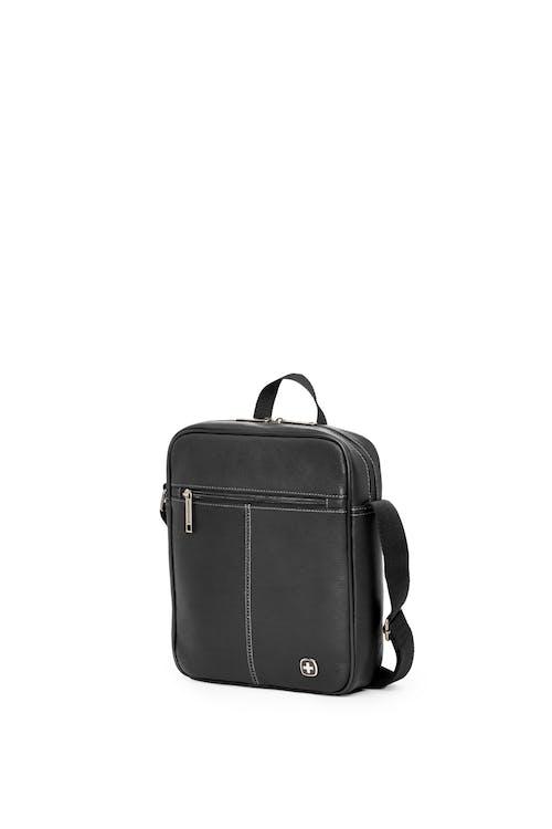 Swissgear 5120 Leather Tablet Bag - Black