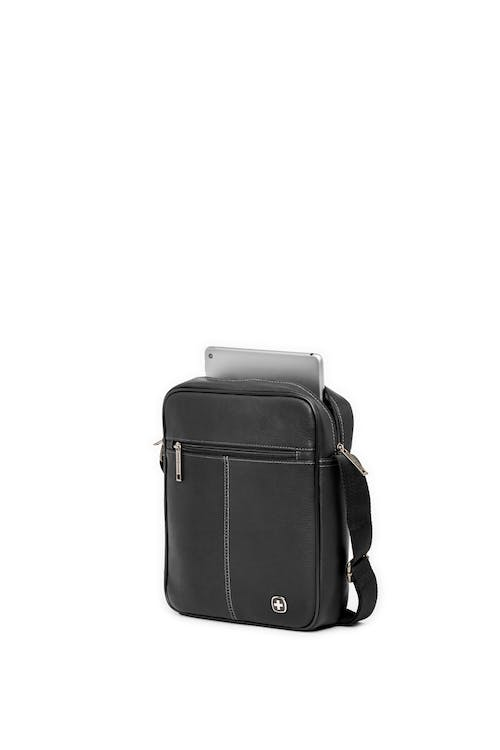 Swissgear 5120 Leather Tablet Bag  Padded zippered compartment