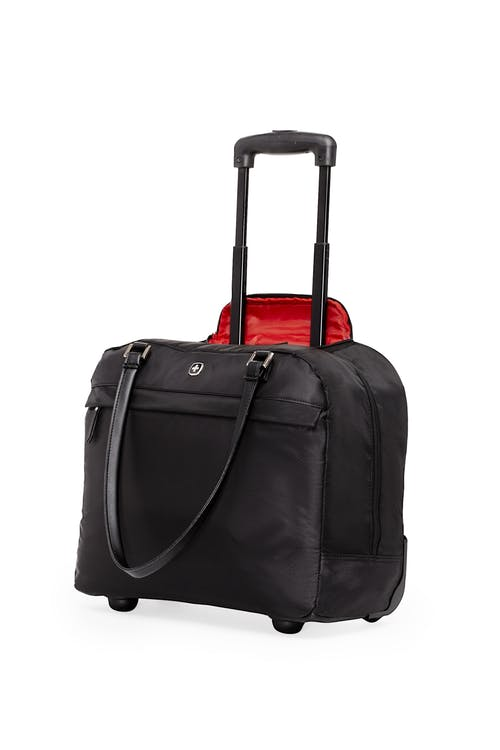 Swissgear 5152 15-inch Laptop Wheeled Computer Business Case - Black