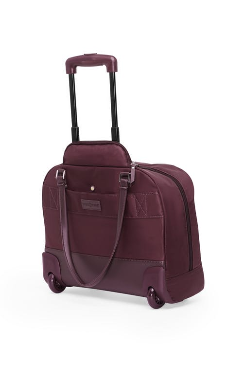 Swissgear 5152 15-inch Laptop Wheeled Computer Business Case  Push-button locking telescopic handle