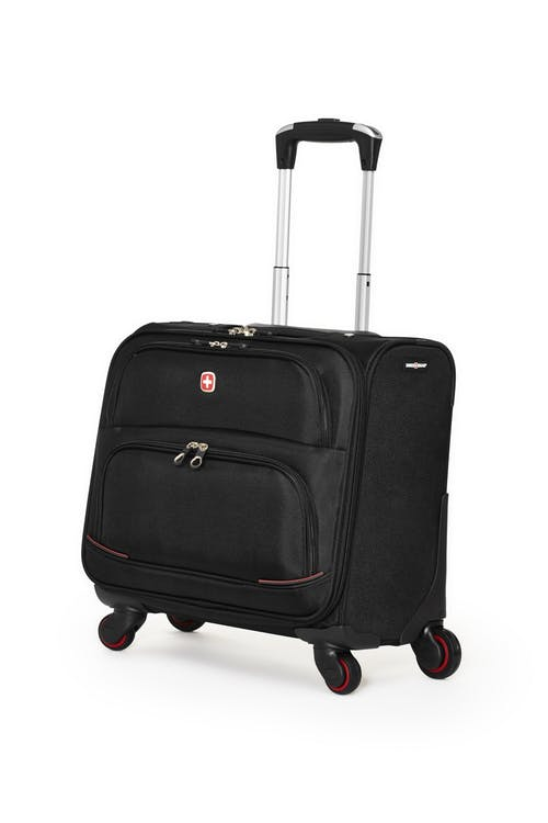 Swissgear 5176 15-inch Laptop 4-wheeled Computer Business Case - Black