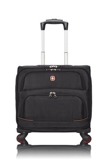 Swissgear 5176 15-inch Laptop 4-wheeled Computer Business Case - Black