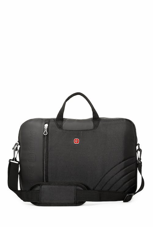 Swissgear 0102 17 inch Laptop Friendly Briefcase  Adjustable and removable shoulder straps