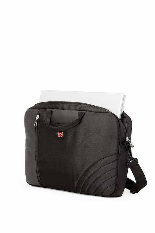 Swissgear 0102 17 inch Laptop Friendly Briefcase  Dedicated laptop compartment