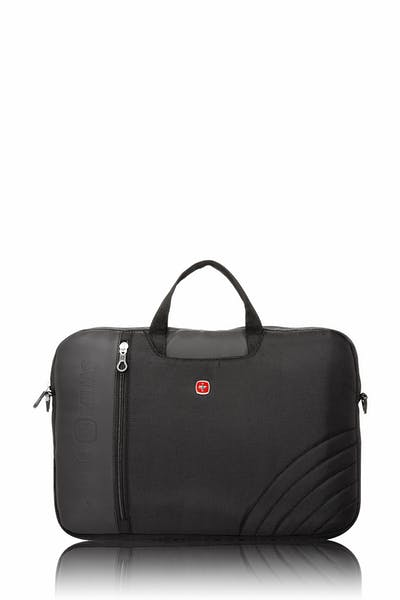 Swissgear 0102 17-inch Laptop Friendly Briefcase - Black