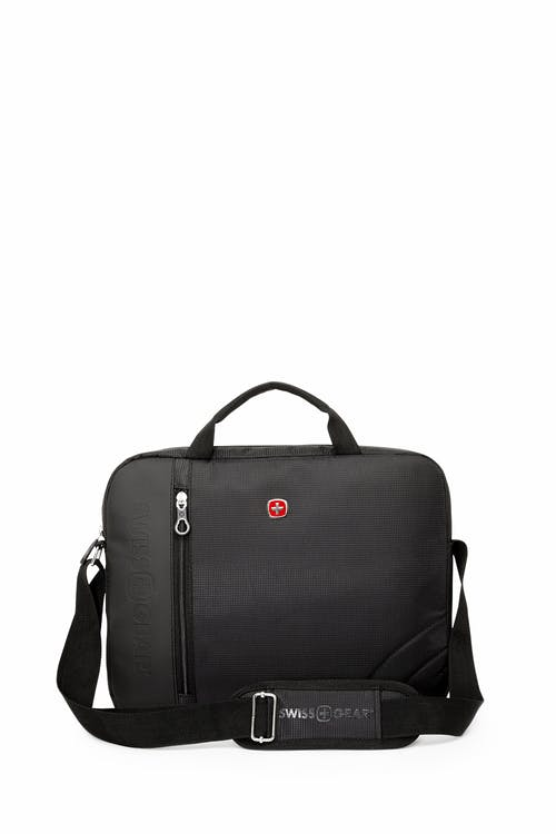 Swissgear 0103 13 inch Laptop Friendly Briefcase  Adjustable and removable shoulder straps