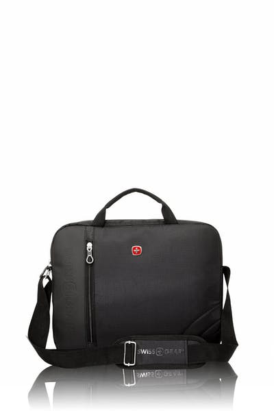 Swissgear 0103 13-inch Laptop Friendly Briefcase - Black