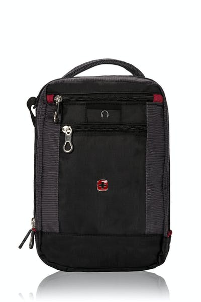 SWISSGEAR 1092 VERTICAL TRAVEL BAG FRONT ZIPPERED POCKET