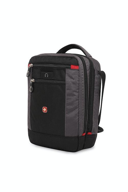 SWISSGEAR 1092 VERTICAL TRAVEL BAG IN BLACK